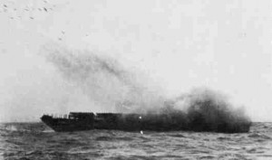 The most terrifying weapon of all - the Landing Craft Rocket unleashes a rain of death on the beaches of Sicily