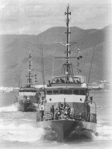 Fremantle class PBs - HMAS Gladstone and Townsville