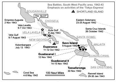 Sea Battlers in the South-West Pacific Activities of the Tokyo Express