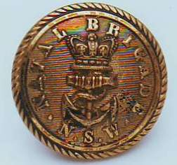 Button of the NSW Naval Brigade