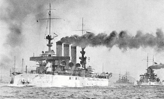 Units of the Great White Fleet, 1908