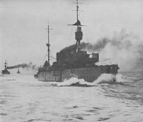 HMAS Sydney in the North Sea