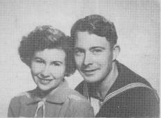Harry Adlam and wife Valerie in 1948