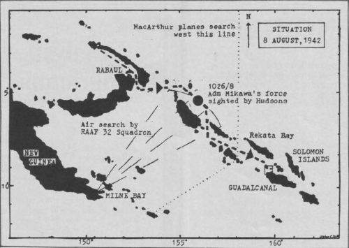 Situation - 8 August 1942