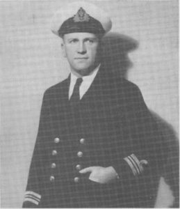 LCDR P.E. Carr D.F.C. RAN Rtd.