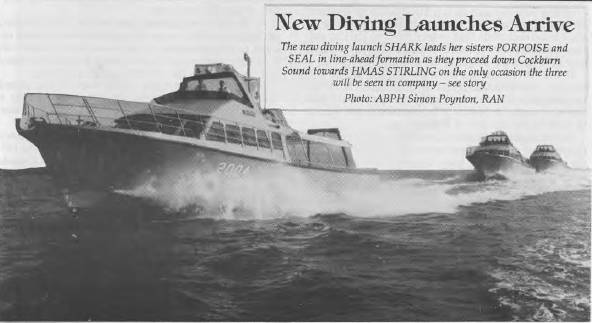 New Diving Launches Arrive