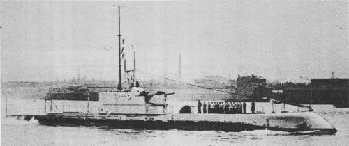 HMA Submarine Oxley leaves Portsmouth for Australia, 8 February 1928