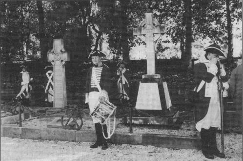 Catafalque party of the Australian Colonial Marine Enactments