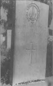 Grave of Able Seaman Albert Knaggs