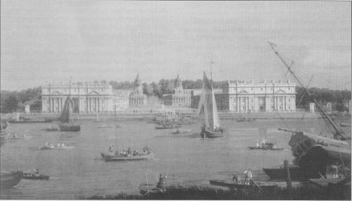 Letters: Royal Naval College, Greenwich.