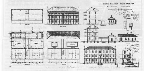 Plans for Barracks Building