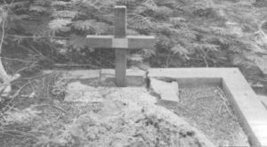 The grave on Christmas Island - a HMAS Sydney sailor?