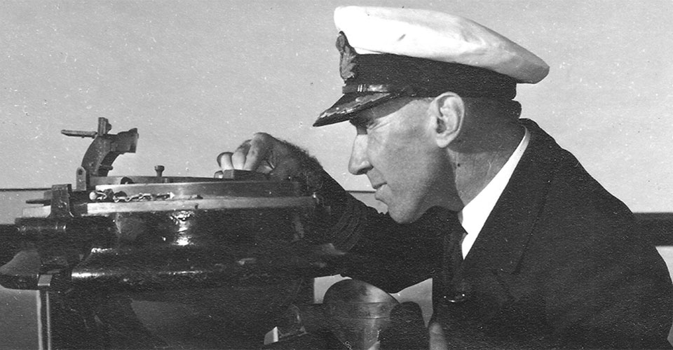 Commander Burrell RAN in 1941