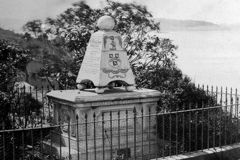 The one and only grave (Southern Hill of Garden Island)