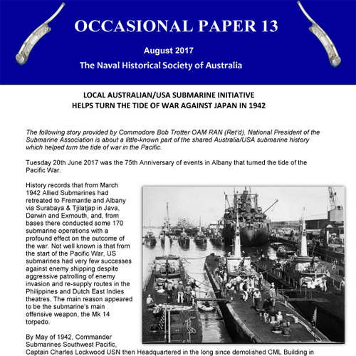 Occassional paper