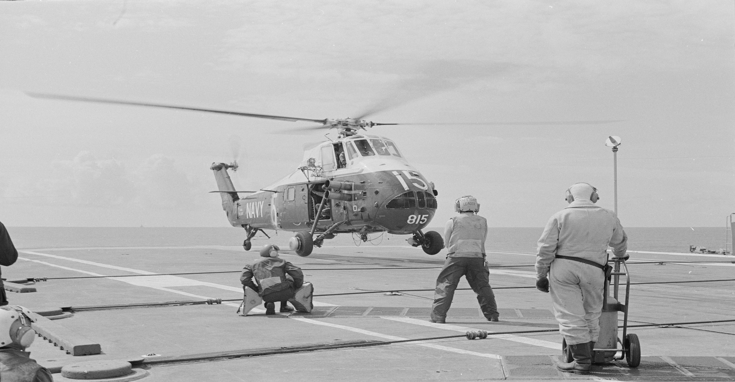 Wessex 815 Landing on HMAS Melbourne